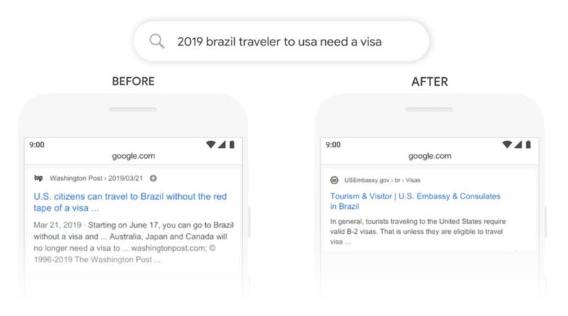 BERT Google Update