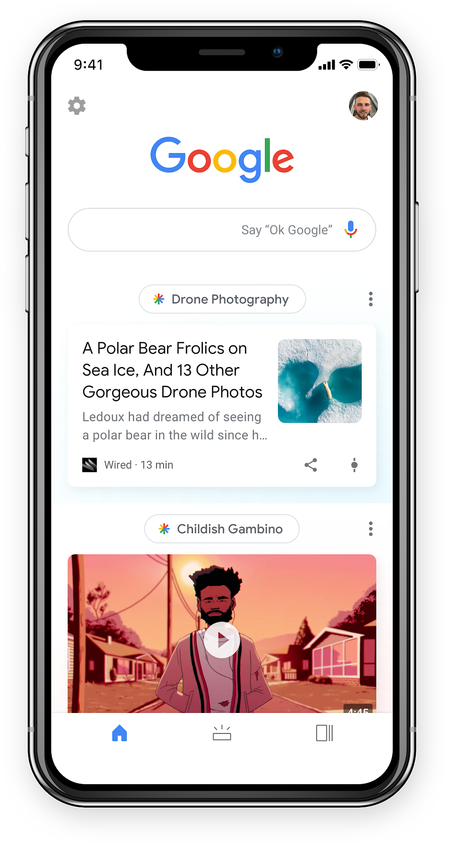 Google Discover Blog
