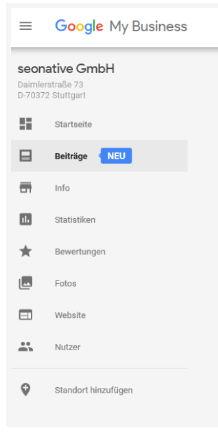 Google Posts Anleitung 1