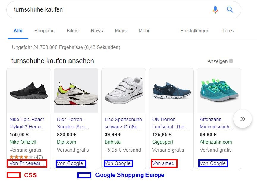 Google Soopping_CSS_Hauptsuche