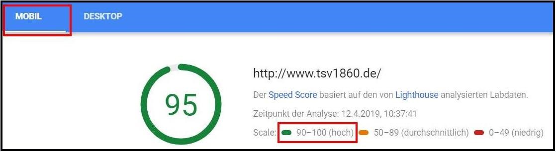 Pagespeed optimieren