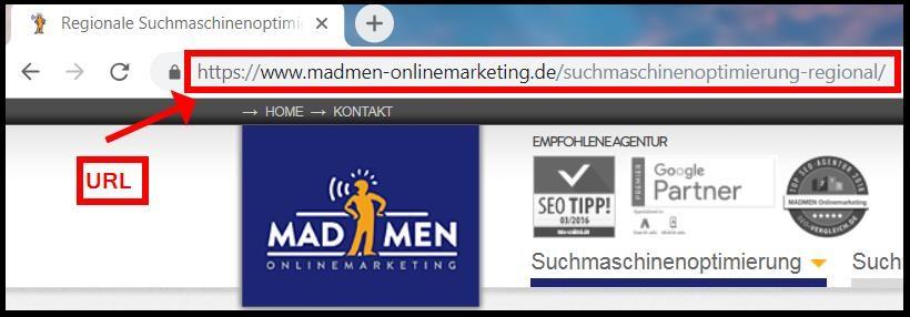 URL optimieren